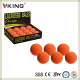 Billes de Lacrosse oranges directes de yoga de massage d'usine