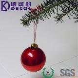 Ornamentos al por mayor de la Navidad que cuelgan la bola de cristal de la Navidad