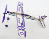 고무에 의하여 강화되는 발사 글라이더 비행기 장난감 선물