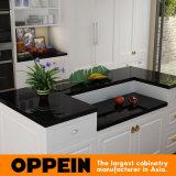 Euro mobilia bianca della cucina della galleria della lacca di Oppein (OP15-L19)