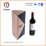 Boîte de cadeau rigide de vin de carton de qualité