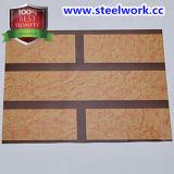 ハイエンドPrepainted電流を通された木の穀物の鋼板