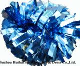 Cheerleading metallische Kolumbien blaues POM POM