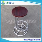 단단한 Wood Bar Table 및 Cheap Price를 가진 Aluminum Structure Bar Chair