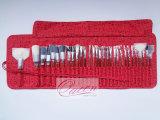 Accomplir la brosse de lecture professionnelle de maquillage de cheveux synthétiques des kits 31PCS