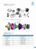 Motor de serie hidráulico Motor/Ms35 de Poclain/alto motor de torque del pistón