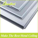 Lay en insonorisé et Fireproof Aluminium Plafond