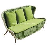 Sofá al aire libre de la rota de los muebles del jardín del certificado de la alta calidad SGS&TUV de la rota al aire libre de los muebles fijado (YT896)