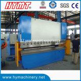 Máquina de dobra de alumínio hidráulica da placa do controle de Wc67k-63X2500 E210/máquina de dobramento do metal