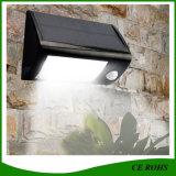 Luz solar del jardín LED del alto brillo IP65 con el Ce RoHS