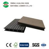 Decking composé en plastique en bois de plancher en bois imperméable à l'eau antidérapage (M19)