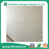 painéis do papel de parede da etiqueta da parede da espuma do PE 3D