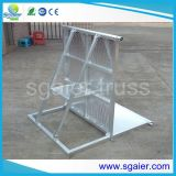 Im FreienStage Barrier Portable Concert Barriers From Sgaier Truss für Performance