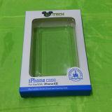 Embalaje plástico de la cubierta para el caso del iPhone