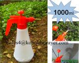 Pulvérisateur en plastique de pompe à main, pulvérisateur de pression du jardin 2L