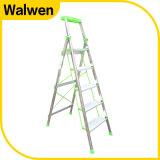 5つのステップアルミニウム梯子を折る最もよい価格の世帯の安全敏捷