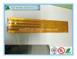 Único PWB flexível tomado o partido dobro tomado o partido do cabo flexível da placa de circuitos de FPC