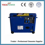 электрический генератор 5kVA охлаженный воздухом тепловозный звукоизоляционный