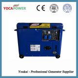 Central energética elétrica Soundproof azul do gerador da cor 5kVA