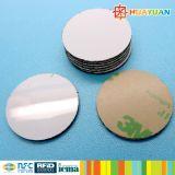 Industrie suivant l'étiquette classique de disque de disque de PVC de l'IDENTIFICATION RF 1K de 13.56MHz MIFARE