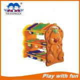 子供のプラスチックおもちゃの棚のタイプ