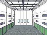 Grande stanza della vernice della cabina della pittura di Btd 14m