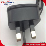 Chargeur de mur de câble par fiche BRITANNIQUE de téléphone mobile pour Samsung I9000