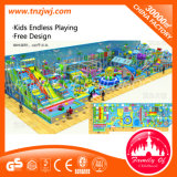 Дом игры оборудования спортивной площадки приключения крытая для малыша