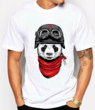 Nuovo maglietta degli uomini stampata di modo di stile cotone