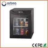 Refrigerador de vidro da porta de Orbita, mini refrigerador 20 litros, refrigerador da barra do hotel mini