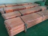 Tige de sol revêtue de cuivre de qualité supérieure
