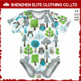 Jeux 100% organiques de vêtement de bébé de coton nouveau-né