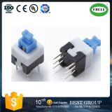 Auto-Locking 7X7 nessun Lock Single Row Foot Double Foot Switch