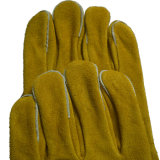 Перчатки заварки золотистой двойной ладони сверхмощные