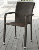Al aire libre de la rota / silla de mimbre del café Ocio (WS1691)