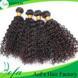 7A Cabelo Virgem Humano Curl Cabelo Brasileiro Da China