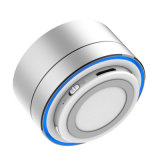 Factory Handsfree Basse Subwoofe Cylindre en alliage d'aluminium Mini-cadeau Haut-parleur Haut-parleur sans fil A10 Bluetooth avec carte LED Light TF