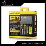 Lader de van uitstekende kwaliteit van Intellicharger Nitecore van de Lader van de Batterij van het Lithium I4 voor Batterij 18650