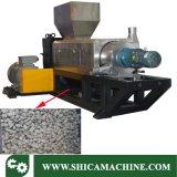 Nasser Plastikfilm-Schrott, der Maschine für das Trocknen von Plast zusammendrückt