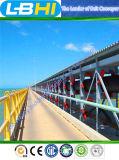 Система ленточного транспортера высокотехнологичного Типичн-Проекта международная изогнутая