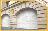 Puerta de garaje seccional con espuma de poliuretano interior