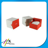 베개를 가진 주문 시계 포장지 상자