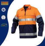 Облегченная куртка работы лета или осени Hi-Визави