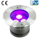 Indicatore luminoso sotterraneo dell'acciaio inossidabile 6W LED o lampada sotterranea (JP82532)