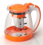 Alta qualità 1800ml Glass Tea Pot Coffee Pot