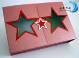 CandyまたはGiftのための特別なStar Shape Paper Packaging Box