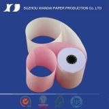 NCR van uitstekende kwaliteit Paper Roll 76mm X 76mm NCR Paper Roll NCR met 2 lagen met 2 lagen Cash Register Paper Roll POS met 2 lagen Paper Roll 76mm Carbonless met 2 lagen Paper Roll