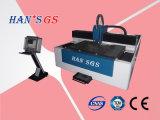 Máquina del cortador del corte del laser de la fibra del GS 500W de Han para la hoja plateada de metal (GS-LFS3015)