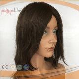 極度の長い人間の毛髪のRemyのバージンの毛の自然な波状のレースのかつら(PPG-l-0765)