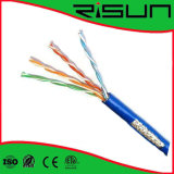 Cable de LAN 4 pares del cable de SFTP CAT6